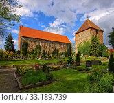 sillenstede church - sillenstede church 02. Стоковое фото, фотограф Liane Matrisch / PantherMedia / Фотобанк Лори
