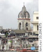 Купить «aerial view of Havana», фото № 33204675, снято 31 мая 2020 г. (c) PantherMedia / Фотобанк Лори