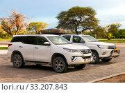 Toyota Fortuner (2020 год). Редакционное фото, фотограф Art Konovalov / Фотобанк Лори