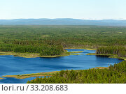 Купить «Endless forests. Northern landscape. Impenetrable swamps in the north», фото № 33208683, снято 5 июля 2019 г. (c) Евгений Ткачёв / Фотобанк Лори