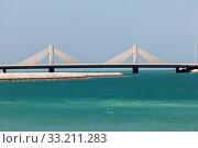Causeway Bridge in Manama, Kingdom of Bahrain. Стоковое фото, фотограф Philip Lange / PantherMedia / Фотобанк Лори