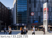Купить «Newly opened Mercedes-Platz in Berlin-Friedrichshain», фото № 33228735, снято 14 октября 2018 г. (c) Caro Photoagency / Фотобанк Лори