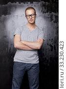 Купить «Good looking metrosexual gay men», фото № 33230423, снято 5 апреля 2020 г. (c) PantherMedia / Фотобанк Лори
