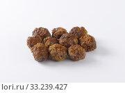 small pan fried meat balls. Стоковое фото, фотограф Alena Dvorakova / PantherMedia / Фотобанк Лори