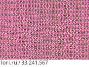 Купить «pink texture with spots and patterned elements», фото № 33241567, снято 26 февраля 2020 г. (c) PantherMedia / Фотобанк Лори