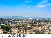 Edinburgh city, top view. Стоковое фото, фотограф Pichet Wissawapipat / PantherMedia / Фотобанк Лори