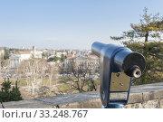 Купить «Coin Operated Telescope for Sightseeing.», фото № 33248767, снято 5 июня 2020 г. (c) PantherMedia / Фотобанк Лори
