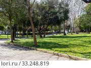 Купить «Central Rizari Park in Athens (Greece)», фото № 33248819, снято 26 февраля 2020 г. (c) Татьяна Ляпи / Фотобанк Лори