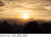 Купить «The karst mountain tops», фото № 33256263, снято 6 июля 2020 г. (c) PantherMedia / Фотобанк Лори