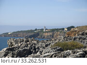 Купить «küstenlandschaft bei cabo da roca, portugal», фото № 33262531, снято 24 мая 2020 г. (c) PantherMedia / Фотобанк Лори