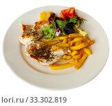 Купить «Savory grilled chicken fillets», фото № 33302819, снято 30 марта 2020 г. (c) Яков Филимонов / Фотобанк Лори