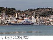 Купить «The moored ship on a sunny day», фото № 33302923, снято 2 марта 2020 г. (c) Татьяна Ляпи / Фотобанк Лори