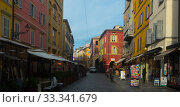 Central streets of Parma, Italy (2017 год). Редакционное фото, фотограф Яков Филимонов / Фотобанк Лори
