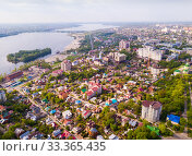 Aerial view of Voronezh (2019 год). Стоковое фото, фотограф Яков Филимонов / Фотобанк Лори