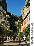 Moustiers Sainte Marie, France (2014 год). Редакционное фото, фотограф Знаменский Олег / Фотобанк Лори