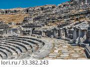 Купить «Miletus Ancient City and Theatre in Turkey», фото № 33382243, снято 20 июля 2019 г. (c) Sergii Zarev / Фотобанк Лори