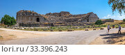 Купить «Miletus Ancient Theatre in Turkey», фото № 33396243, снято 20 июля 2019 г. (c) Sergii Zarev / Фотобанк Лори