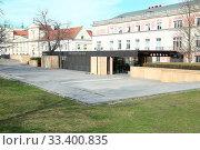 March 16, 2020 Warsaw, Poland. Warsaw during the coronavirus pandemic. Редакционное фото, фотограф wodzynski pawel / age Fotostock / Фотобанк Лори