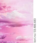 Купить «Magical dream, nature backdrop and spiritual holiday concept - Dreamy surreal sky as abstract art, fantasy pastel colours background for modern design», фото № 33406683, снято 9 апреля 2020 г. (c) easy Fotostock / Фотобанк Лори