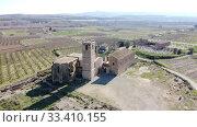 Купить «Ruined monastery of Avinganya, Spain», фото № 33410155, снято 21 февраля 2020 г. (c) Яков Филимонов / Фотобанк Лори
