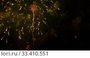 Купить «Colorful of fireworks at City day festival», видеоролик № 33410551, снято 21 марта 2020 г. (c) Игорь Жоров / Фотобанк Лори