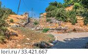 Купить «Ruins of the Ancient city Priene in Turkey», фото № 33421667, снято 20 июля 2019 г. (c) Sergii Zarev / Фотобанк Лори