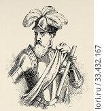Купить «Portrait of Francisco Pizarro González (Trujillo 1478 - Lima 1541). Spanish conqueror, conquest of Peru. Governor of Nueva Castilla. Discover the South...», фото № 33432167, снято 11 февраля 2020 г. (c) age Fotostock / Фотобанк Лори