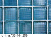 Купить «Glass block wall for sun light pass, Interior lighting shade for building background.», фото № 33444259, снято 5 апреля 2020 г. (c) easy Fotostock / Фотобанк Лори