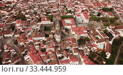 Купить «Picturesque top view of city Evora. Portugal», видеоролик № 33444959, снято 20 апреля 2019 г. (c) Яков Филимонов / Фотобанк Лори