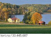 Купить «Vallinge, Malaren, Sodermanland, Sweden.», фото № 33445687, снято 12 октября 2019 г. (c) age Fotostock / Фотобанк Лори
