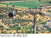 Pergamon Upper Cable Station in Turkey (2019 год). Редакционное фото, фотограф Sergii Zarev / Фотобанк Лори