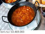 Купить «National Spanish dish Callos», фото № 33469083, снято 25 мая 2020 г. (c) Яков Филимонов / Фотобанк Лори