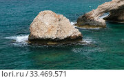 Love Bridge at Cape Greco. Cyprus. Стоковое видео, видеограф Serg Zastavkin / Фотобанк Лори
