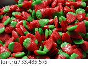 Купить «Разноцветный жевательный мармелад», эксклюзивное фото № 33485575, снято 9 мая 2010 г. (c) lana1501 / Фотобанк Лори