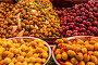 Купить «Olives under various marinades on the counter in the market», фото № 33488095, снято 8 июня 2018 г. (c) Наталья Волкова / Фотобанк Лори