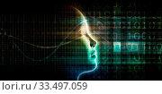 Купить «Artificial Intelligence Evolution with Digital Consciousness as Tech Concept», фото № 33497059, снято 5 июня 2020 г. (c) easy Fotostock / Фотобанк Лори