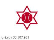 Купить «Флаг города Отару. Япония», иллюстрация № 33507951 (c) Владимир Макеев / Фотобанк Лори