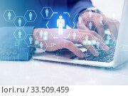 Online recruitment and job search concept. Стоковое фото, фотограф Elnur / Фотобанк Лори