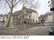 Купить «Angers - a city in the west of France the Loire Valley on December 27, 2019.», фото № 33511627, снято 27 декабря 2019 г. (c) age Fotostock / Фотобанк Лори