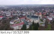 Купить «Flight over the city Krasnik. Poland», видеоролик № 33527999, снято 10 марта 2020 г. (c) Яков Филимонов / Фотобанк Лори