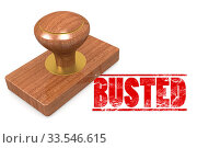 Busted red rubber stamp image with hi-res rendered artwork that could be used for any graphic design. Стоковое фото, фотограф Zoonar.com/Yann Tang / age Fotostock / Фотобанк Лори