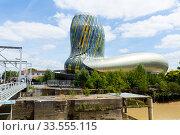 Купить «Cite du Vin, Bordeaux», фото № 33555115, снято 18 июля 2019 г. (c) Яков Филимонов / Фотобанк Лори
