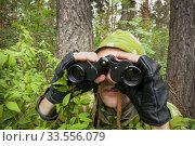 Скрытное наблюдение. Стоковое фото, фотограф Александр Романов / Фотобанк Лори
