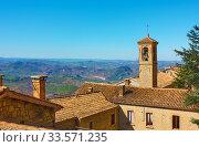 Купить «San Marino - Landscape», фото № 33571235, снято 28 февраля 2020 г. (c) Роман Сигаев / Фотобанк Лори