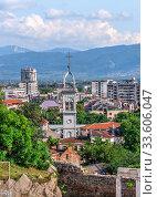 Купить «Roman amphitheater in Plovdiv, Bulgaria», фото № 33606047, снято 24 июля 2019 г. (c) Sergii Zarev / Фотобанк Лори