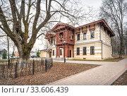 Купить «Главный Дом в Щапово Main Manor House in Shchapovo», фото № 33606439, снято 29 марта 2020 г. (c) Baturina Yuliya / Фотобанк Лори