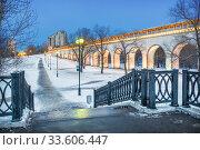 Ростокинский акведук  Rostokinsky aqueduct in Moscow (2020 год). Стоковое фото, фотограф Baturina Yuliya / Фотобанк Лори