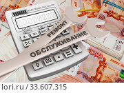 Купить «Прибыль от ремонта и обслуживания», иллюстрация № 33607315 (c) WalDeMarus / Фотобанк Лори