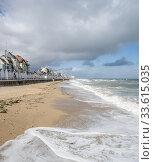 Luc-sur-Mer Sea-front, Normandie, Calvados, France. Стоковое фото, фотограф Alain Kubacsi / age Fotostock / Фотобанк Лори