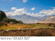 Himalayan landscape, Lower Mustang, Nepal (2012 год). Стоковое фото, фотограф Юлия Бабкина / Фотобанк Лори